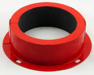 Fire collars at Flamestop Ltd
